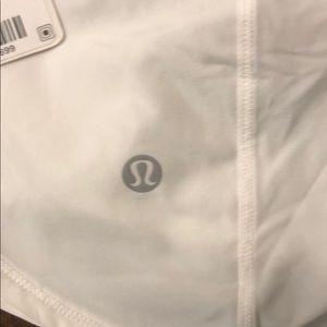 lululemon athletica Shorts - NWT lululemon Attack the Track Shorts Sz 10 white